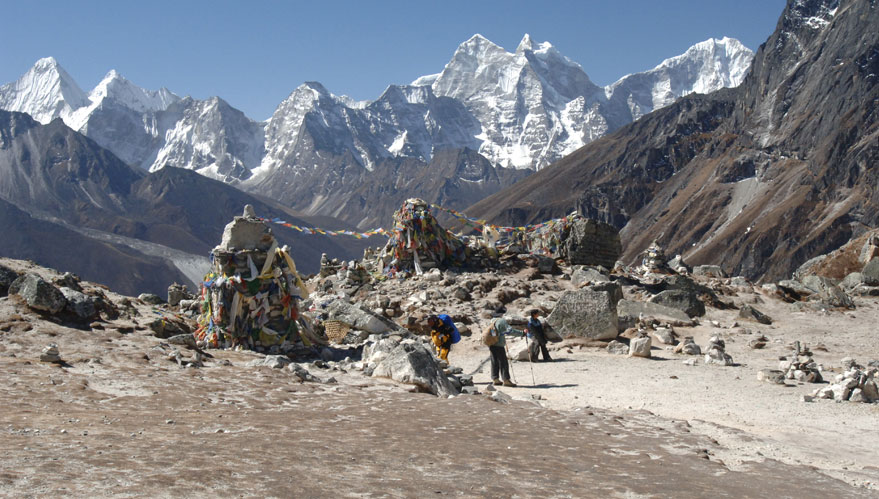 Trekking al campo base dell'Everest